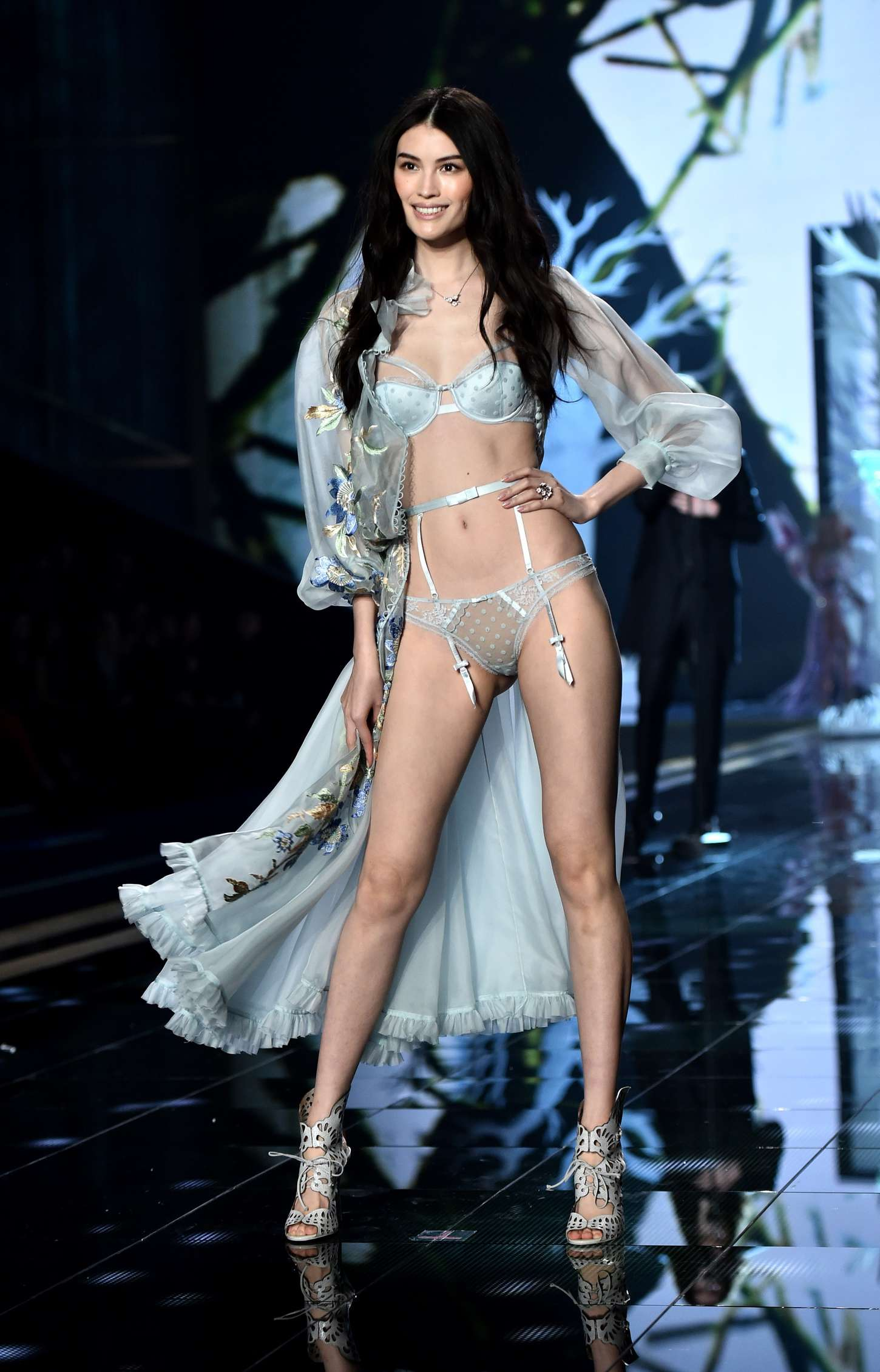 Sui He Victoria's Secret Fashion Show Runway in London