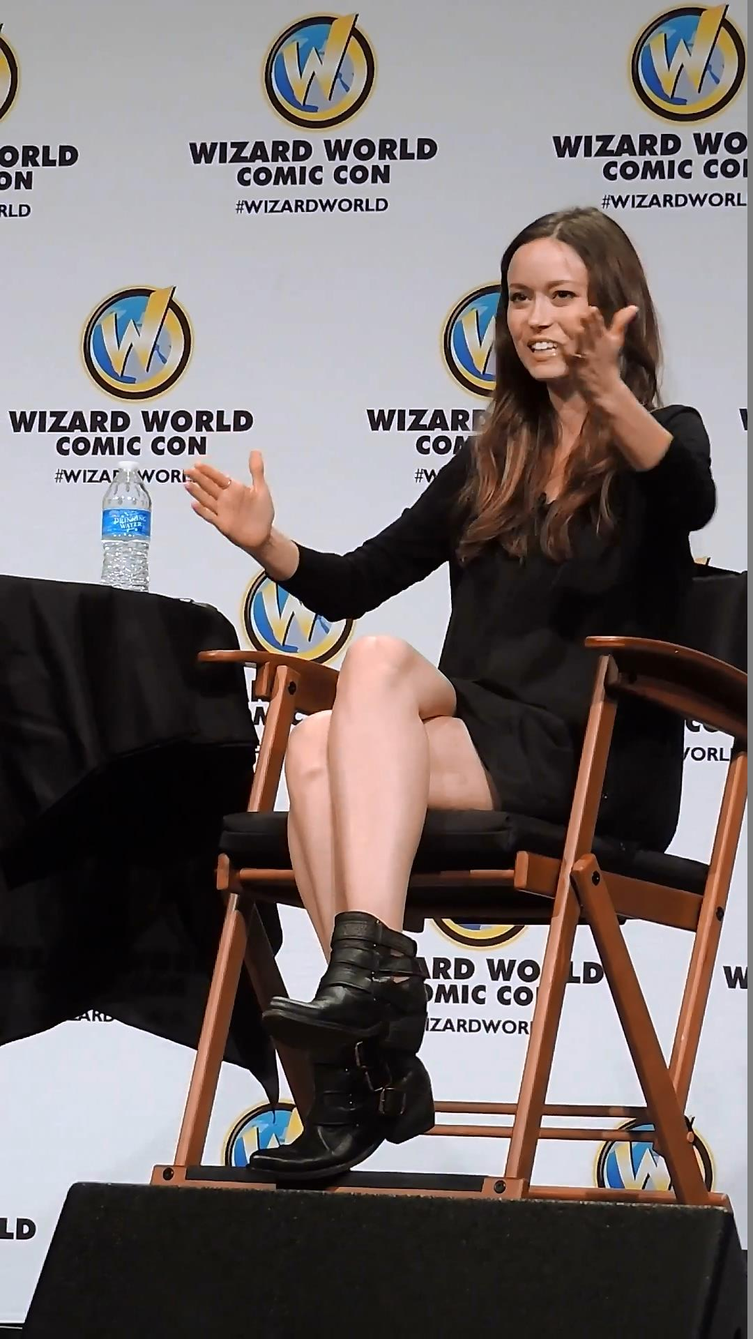 Summer Glau at Wizard World Austin in Los Angeles