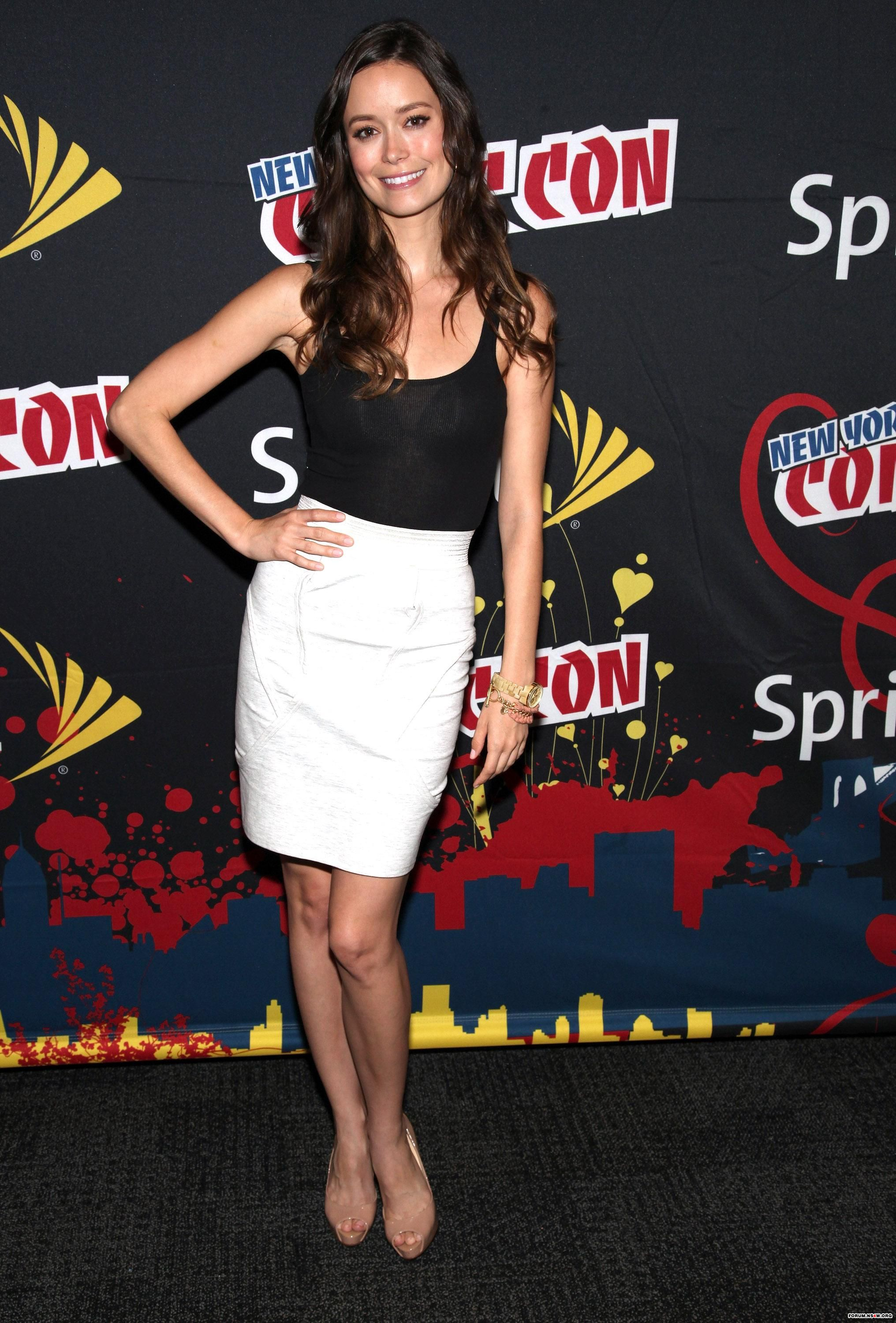 Summer Glau New York Comic Con appearance in New York