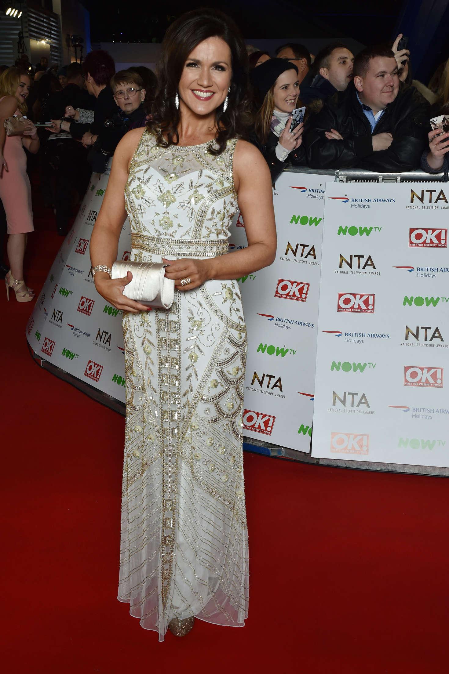 Susanna Reid National Television Awards in London