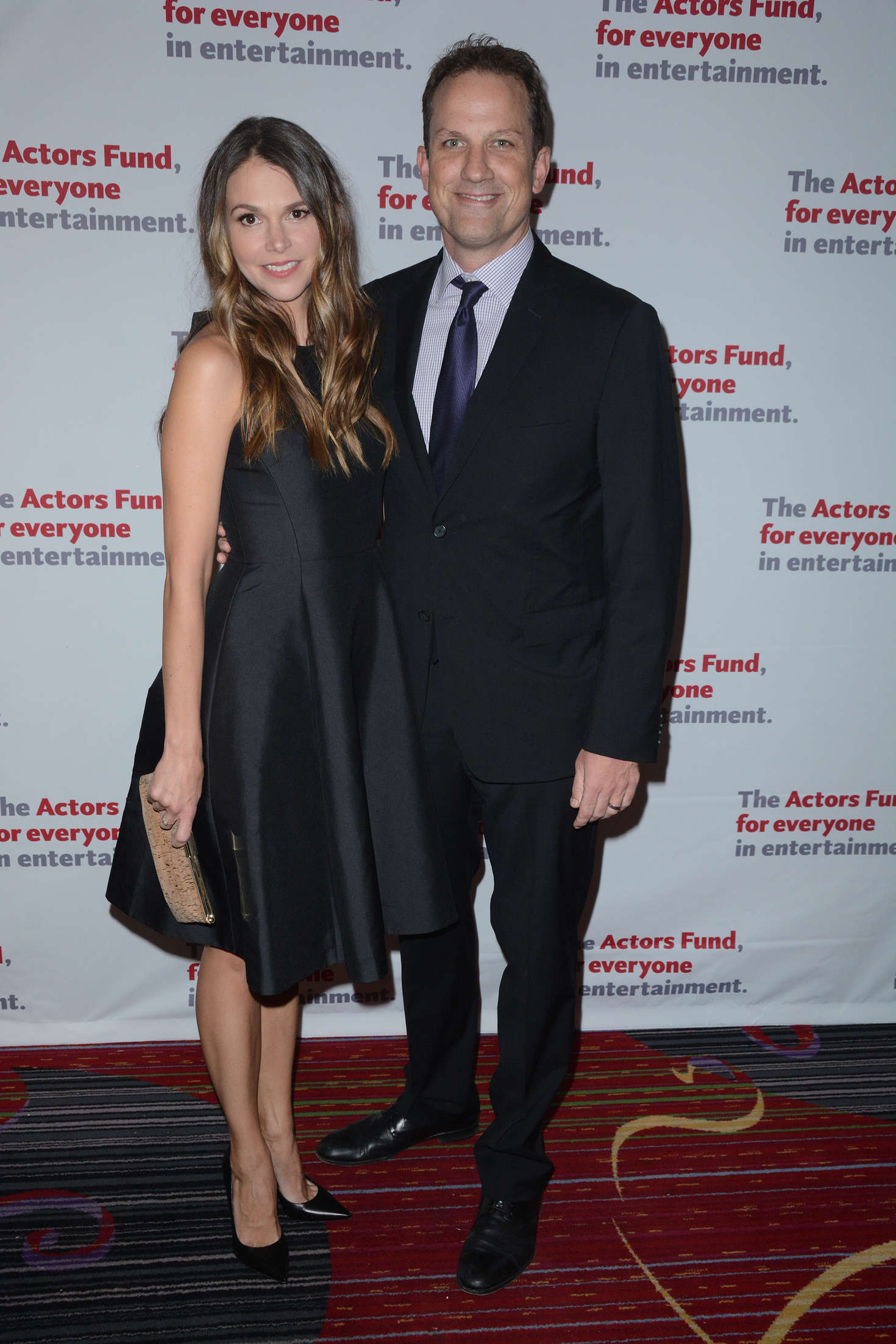 Sutton Foster The Actors Fund Gala in New York