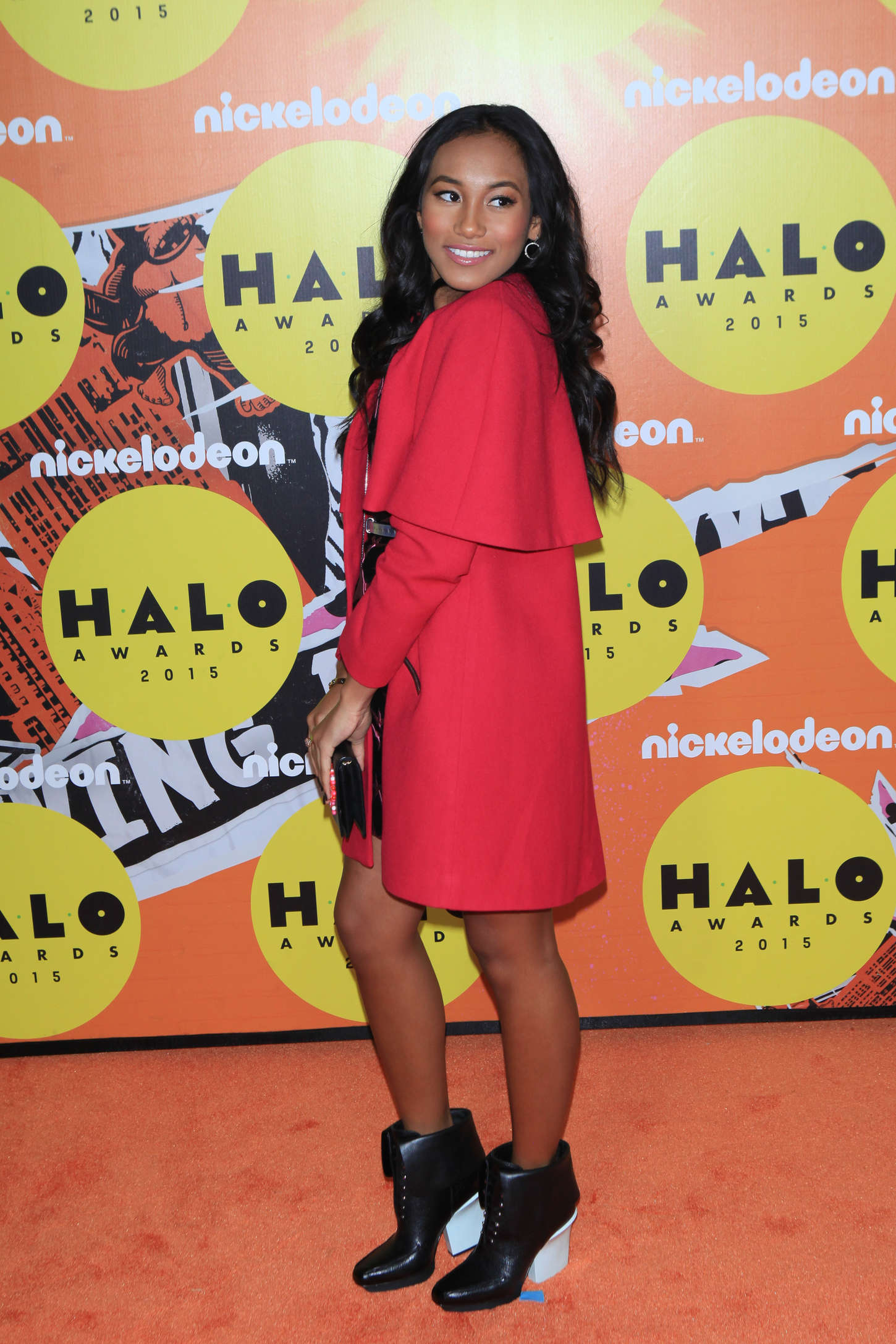 Sydney Park Nickelodeon HALO Awards in New York