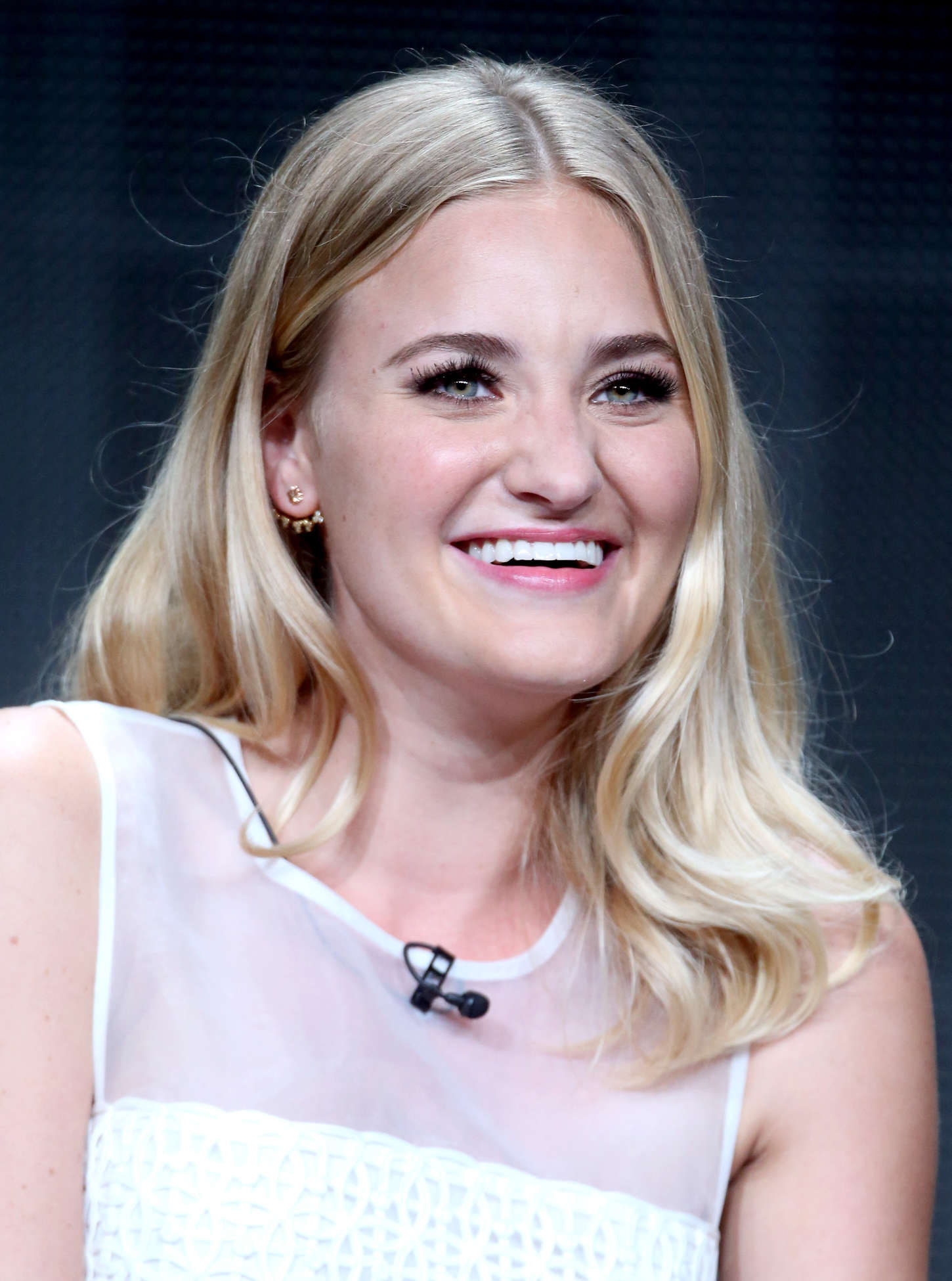 TaAmanda AJ Michalka The Goldbergs Panel Summer TCA Tour in Beverly Hills