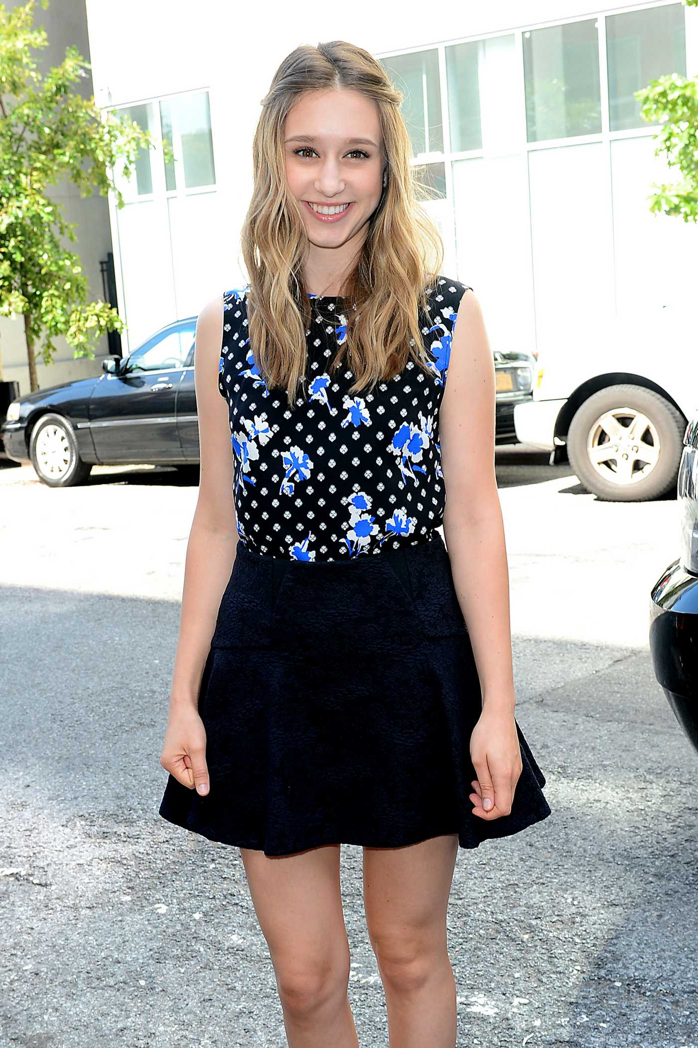 Taissa Farmiga Thakoon Fashion Show in New York