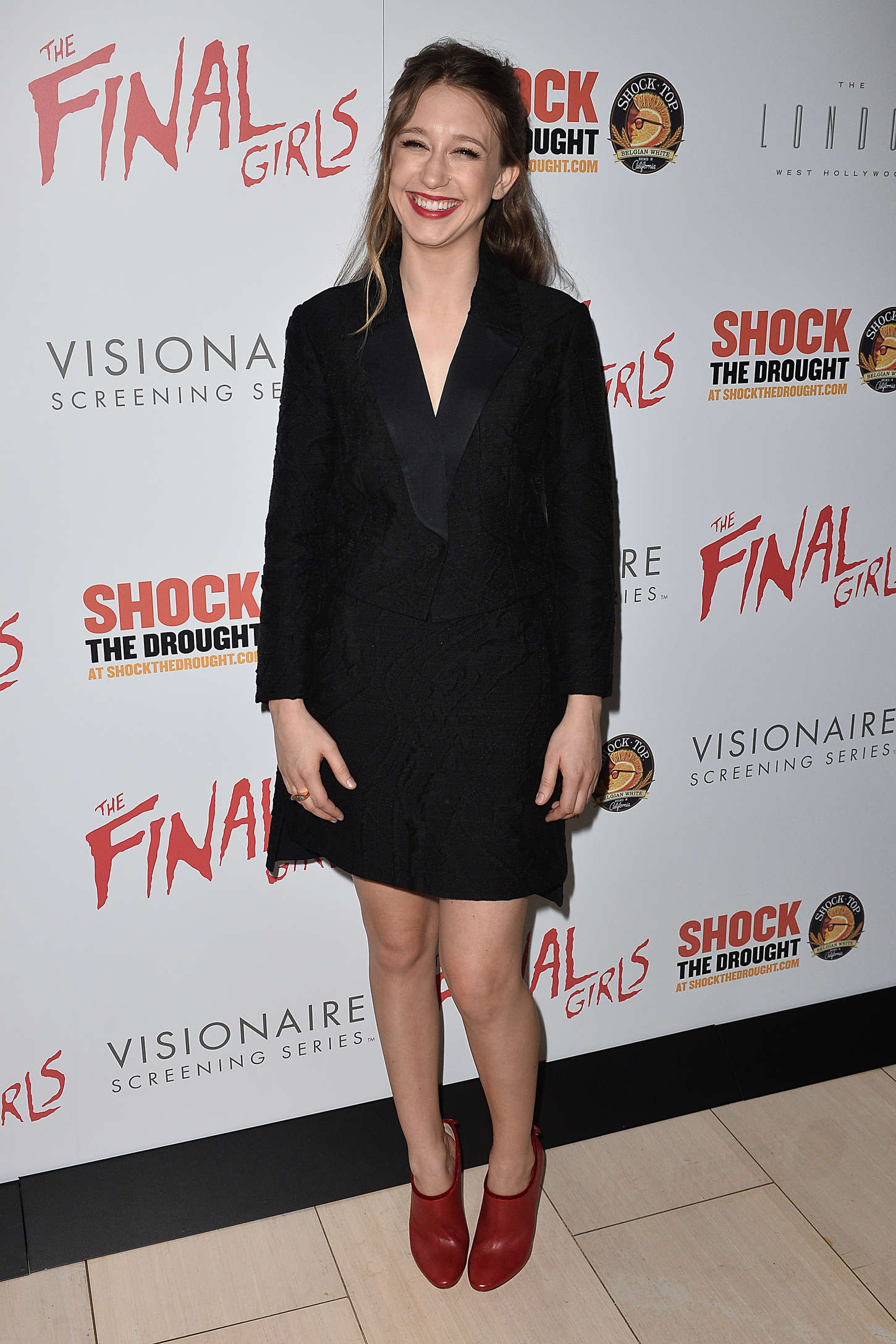 Taissa Farmiga The Final Girls Premiere in West Hollywood