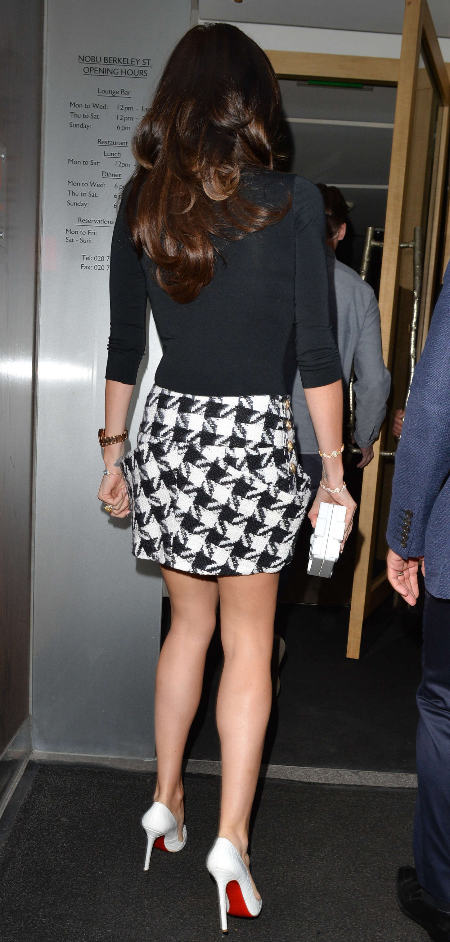 Tamara Ecclestone at Nobu Restaurant in London