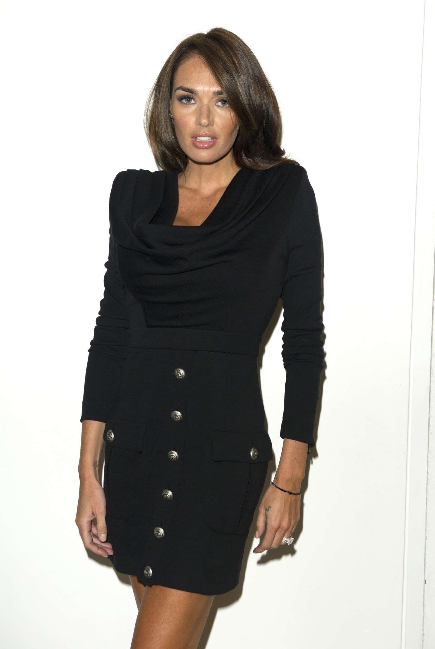 Tamara Ecclestone Julien Macdonald Show SS London Fashion Week