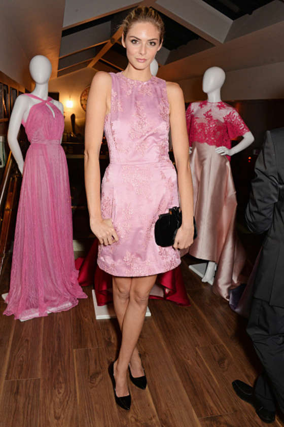 Tamsin Egerton at Toujouri Preview In London