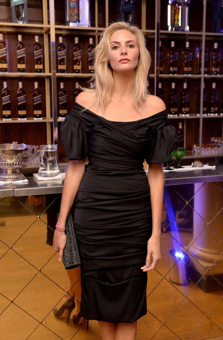 Tamsin Egerton Symphony In Blue A Journey To The Centre of The Glass in London