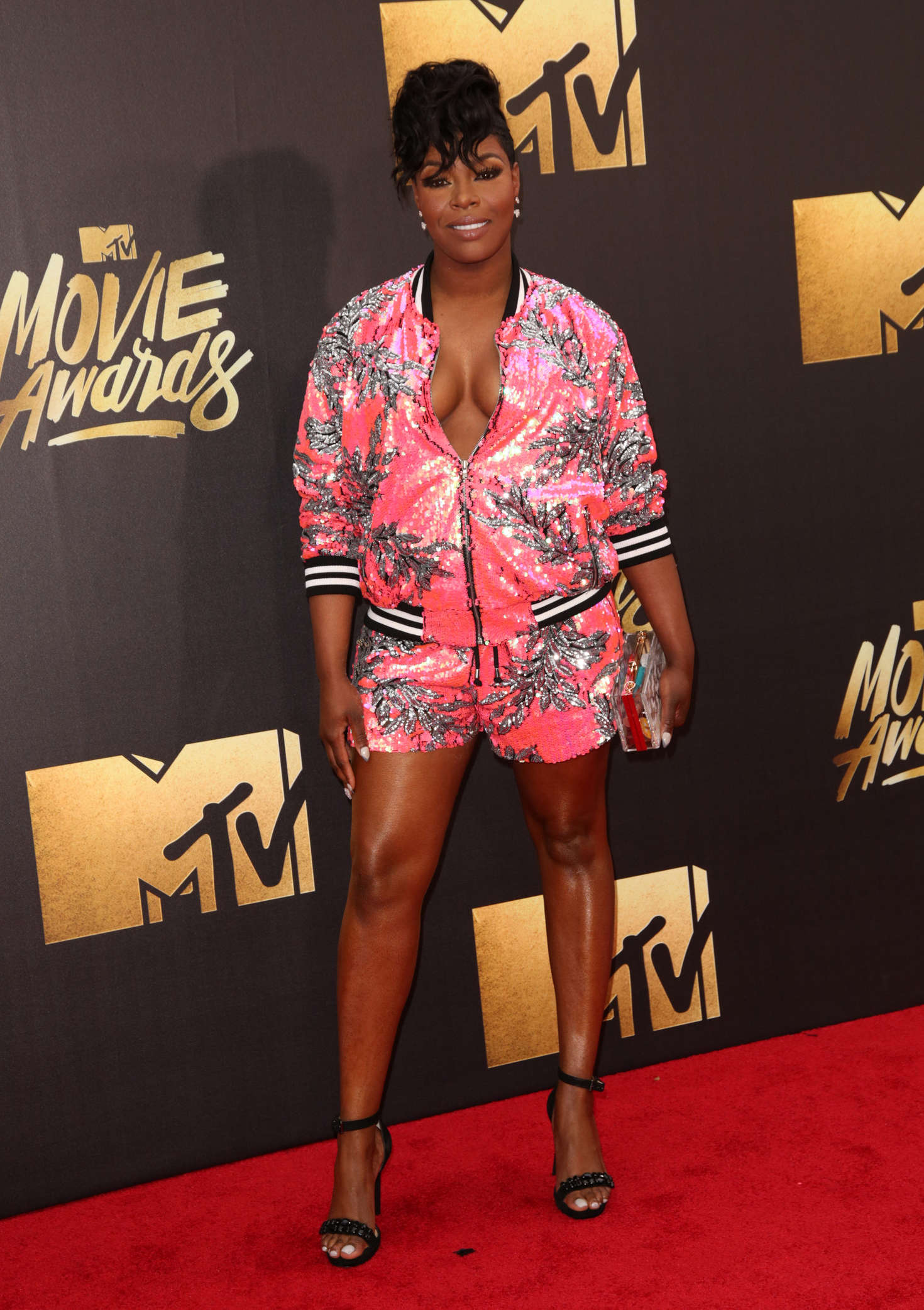 TaRhonda Jones MTV Movie Awards in Burbank