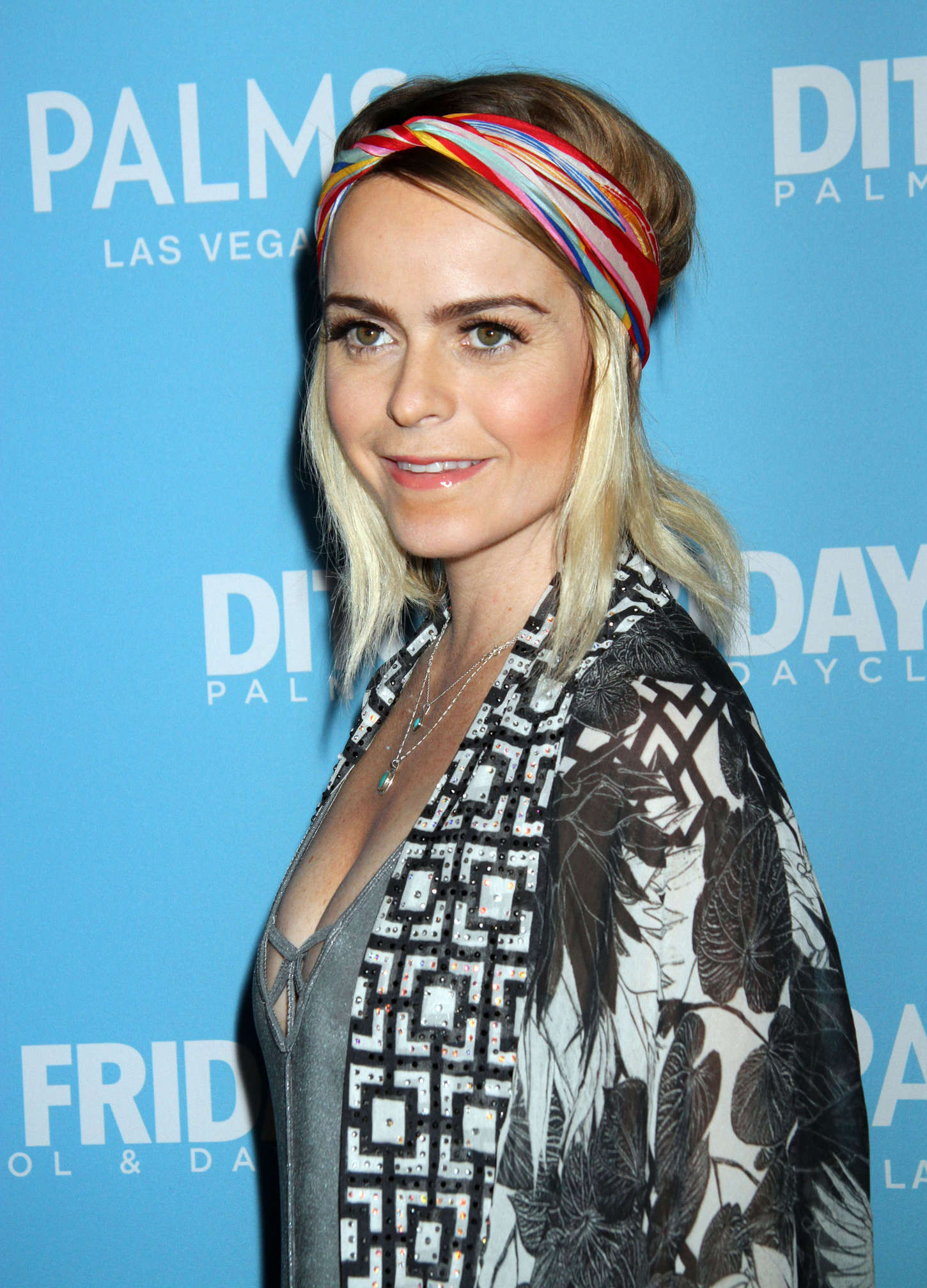 Taryn Manning Ditch Fridays at Palms Pool and Dayclub in Las Vegas