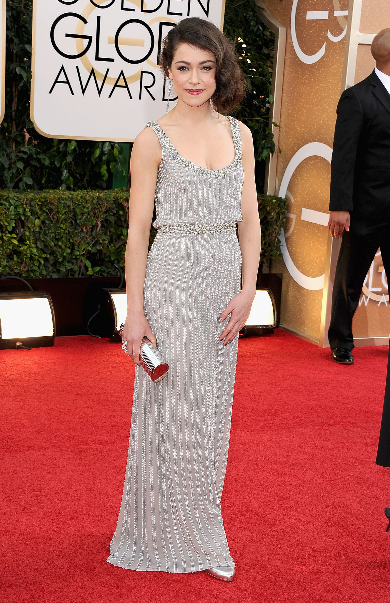 Tatiana Maslany Annual Golden Globe Awards in Beverly Hills
