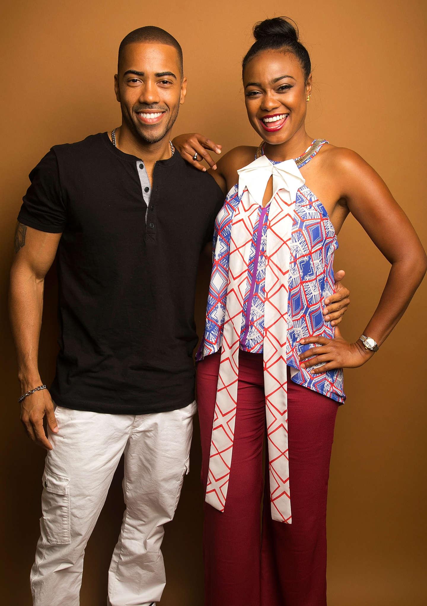 Tatyana Ali American Black Film Festival portraits in New York