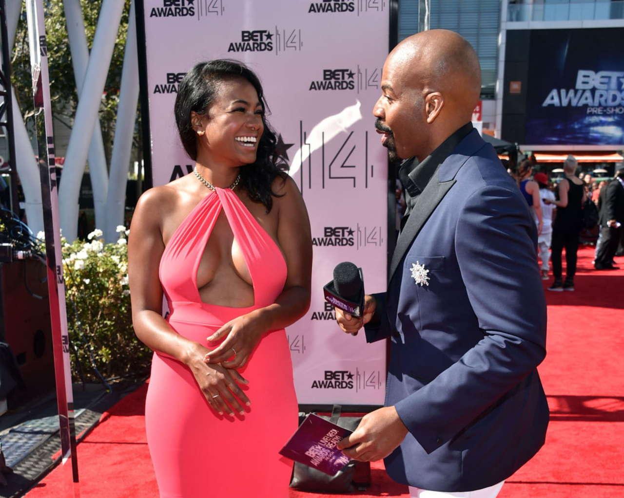 Tatyana Ali BET Awards in Los Angeles