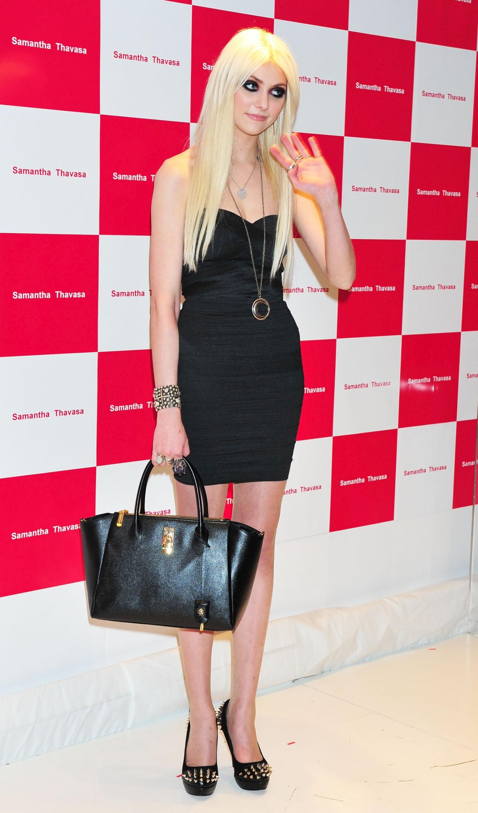 Taylor Momsen at SAMANTHA THAVASA Event Tokyo