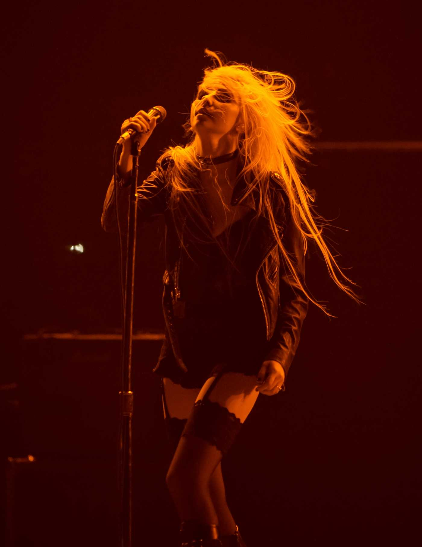 Taylor Momsen of The Pretty Reckless Performs in New Jersey