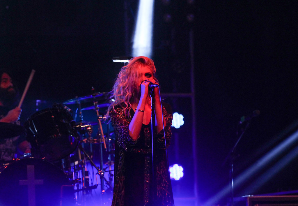 Taylor Momsen The Pretty Reckless Performs at the Ryman Auditorium