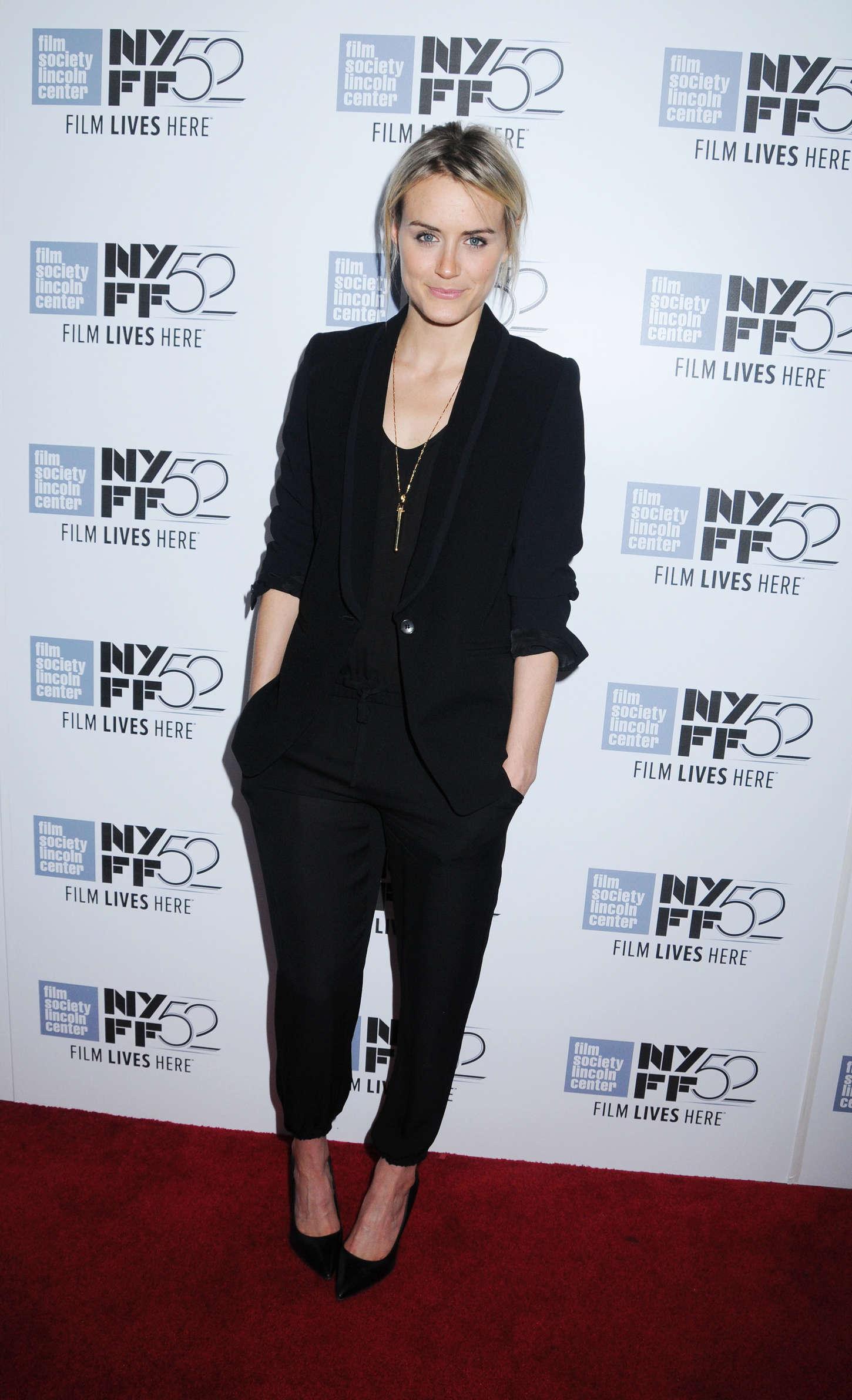 Taylor Schilling Listen Up Phillip Premiere at New York Film Festival