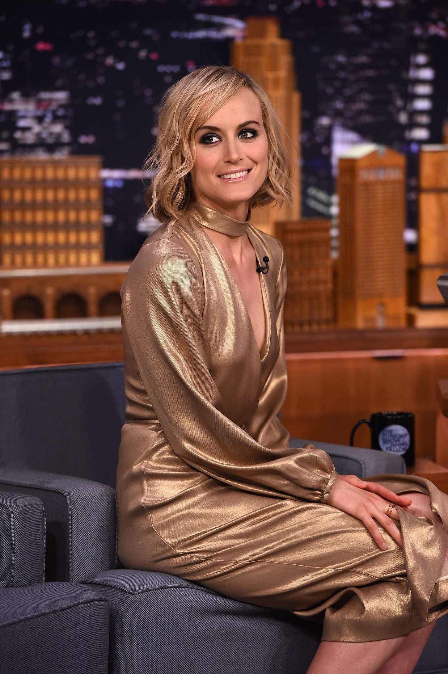 Taylor Schilling The Tonight Show Starring Jimmy Fallon in New York