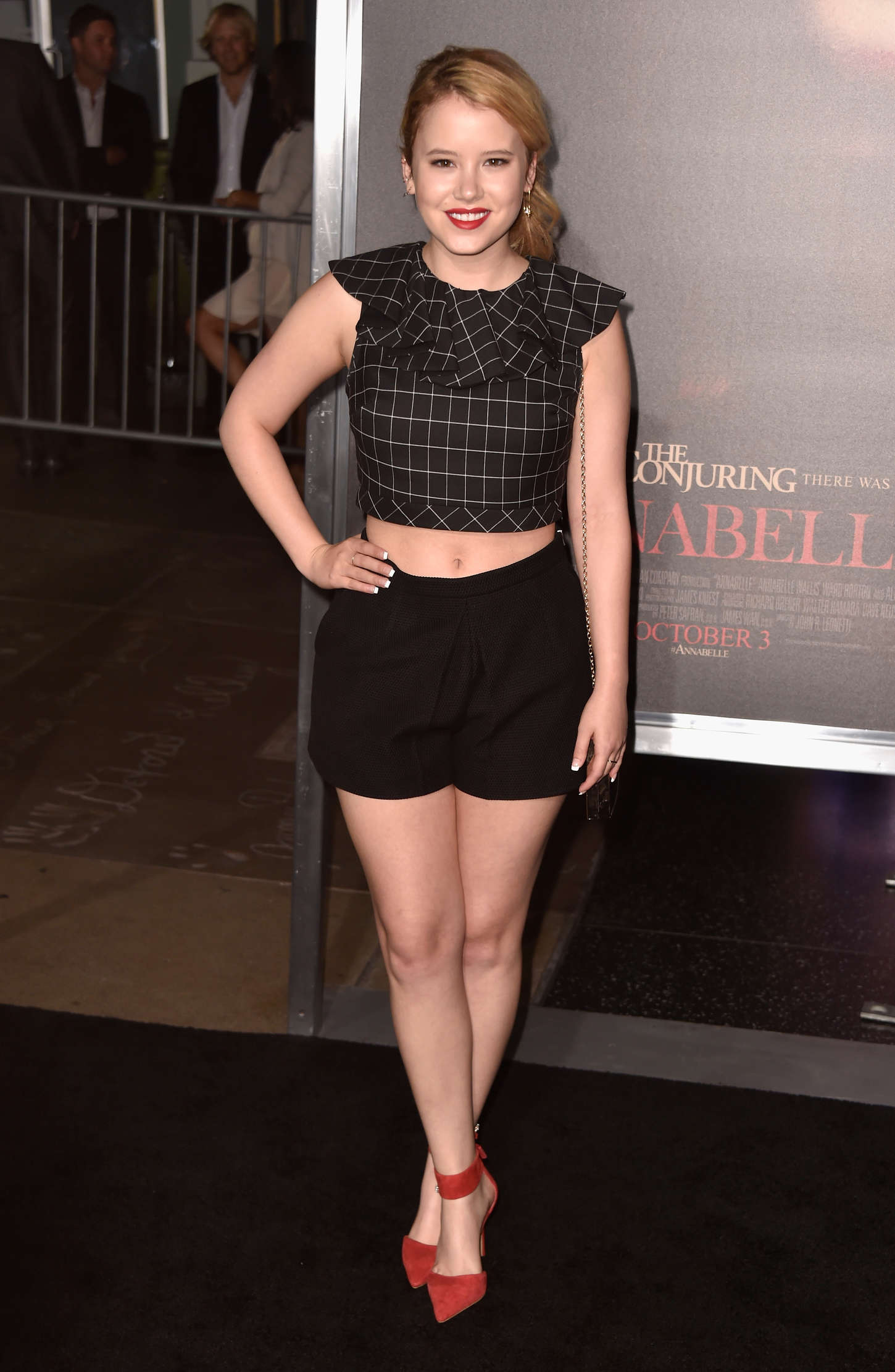 Taylor Spreitler at Annabelle Screening in Hollywood