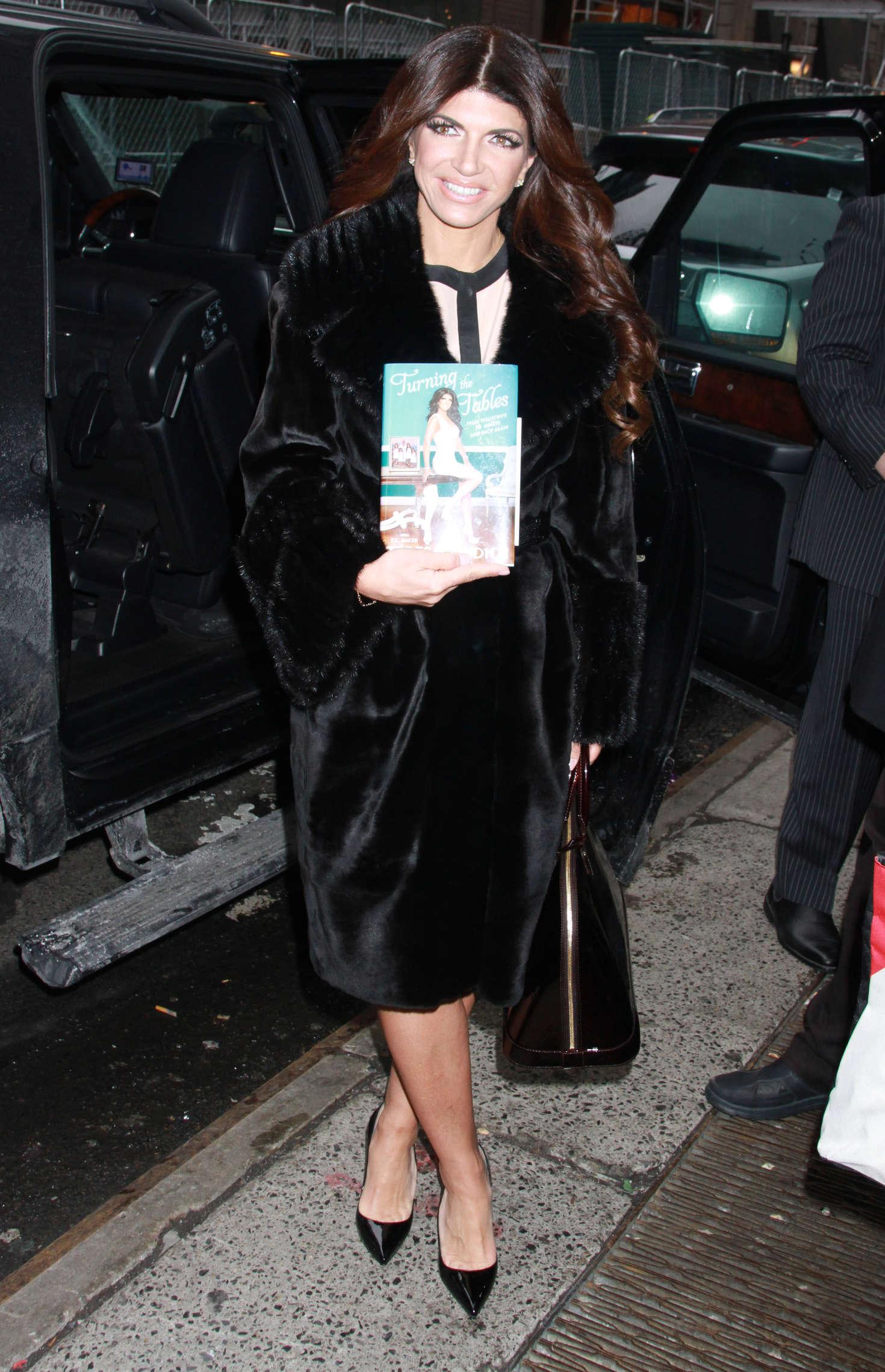 Teresa Giudice at ABC Studios in New York City