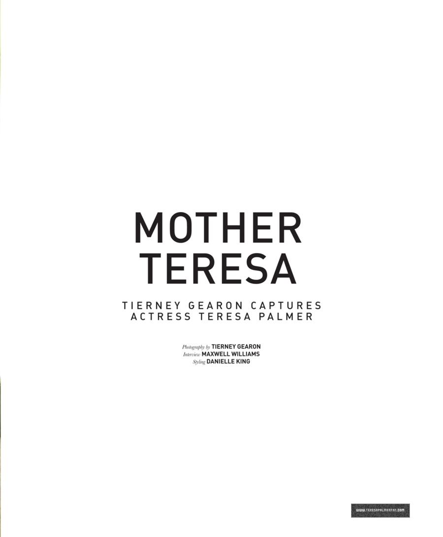 Teresa Palmer Malibu Magazine