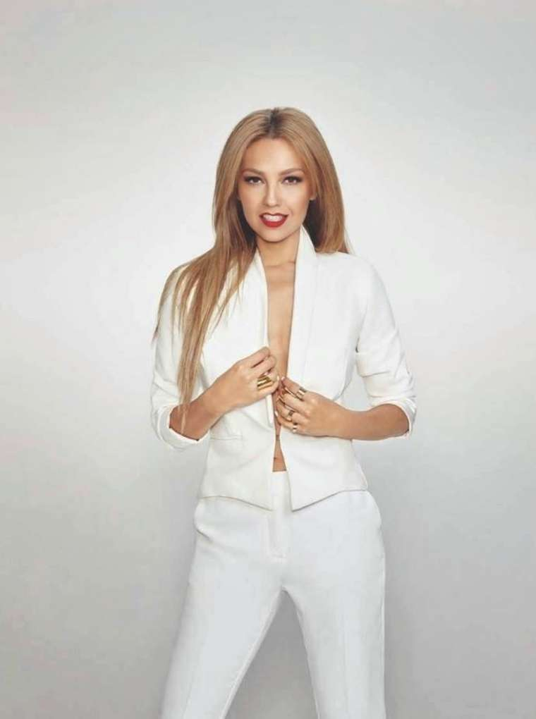 Thalia Marie Claire Mexico Magazine