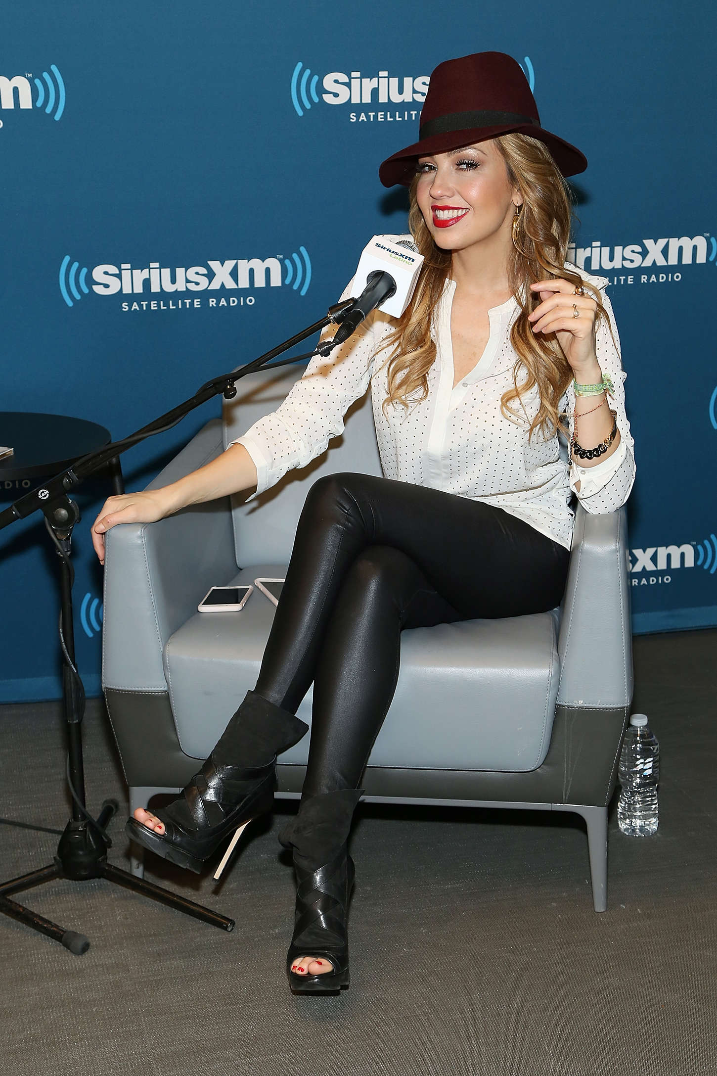 Thalia SiriusXM ICONOS With Thalia in New York