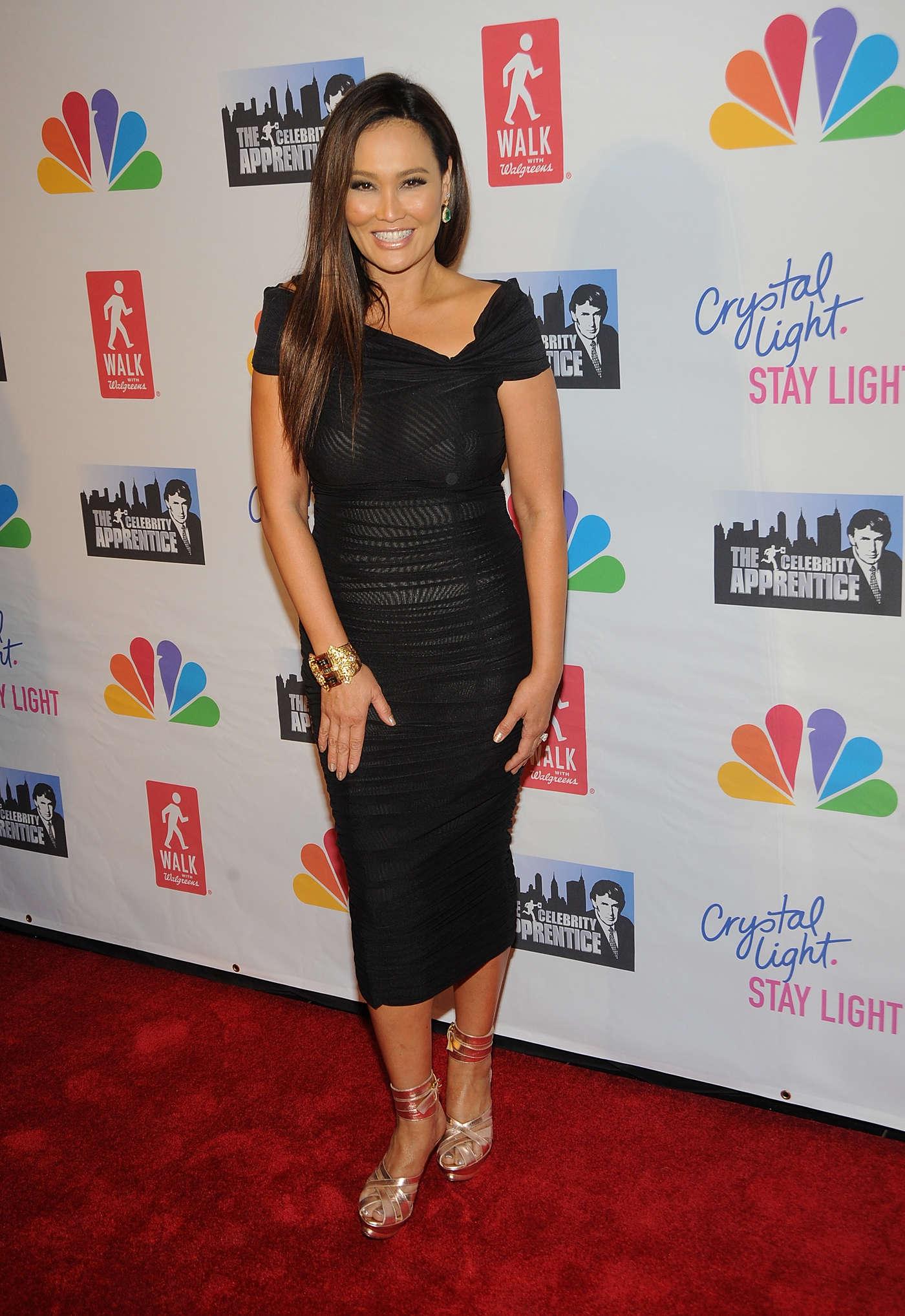 Tia Carrere at Celebrity Apprentice Live Finale in New York