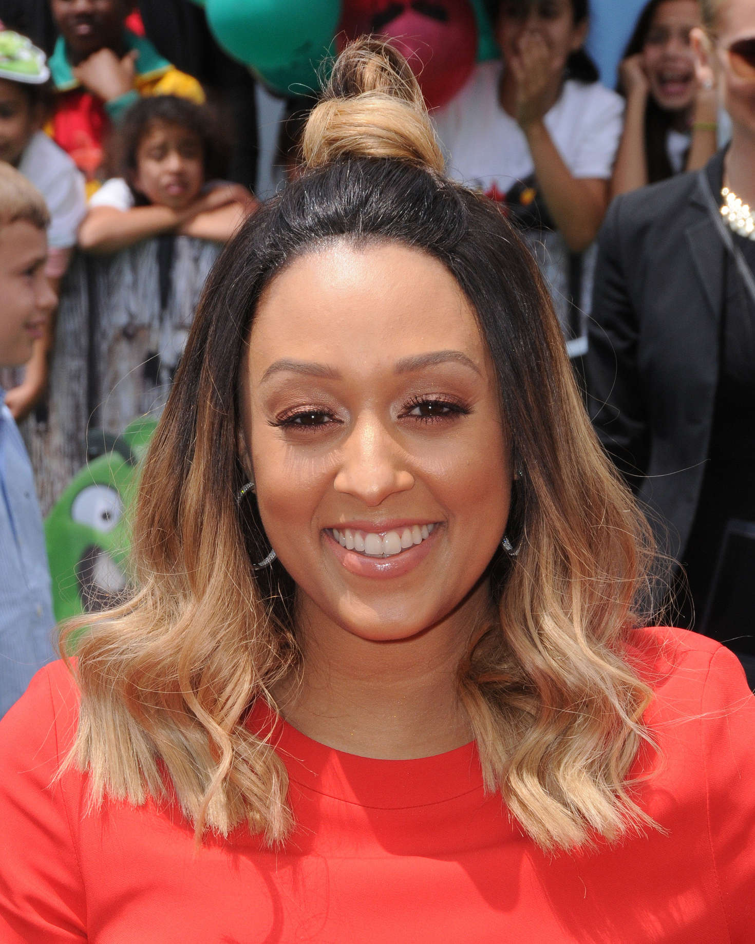 Tia Mowry Angry Birds Premiere in Westwood