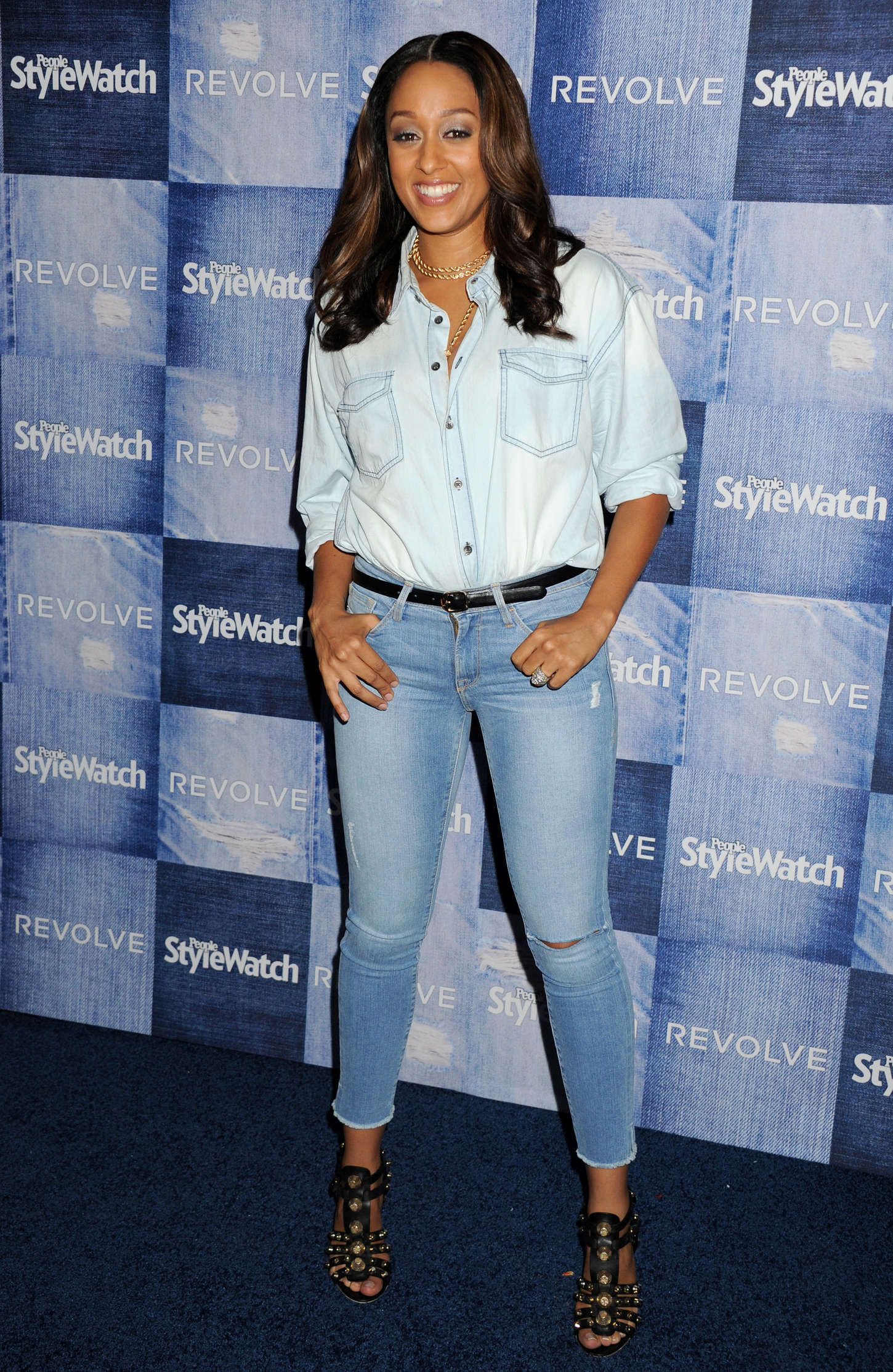 Tia Mowry People StyleWatch Annual Denim Party in Los Angeles