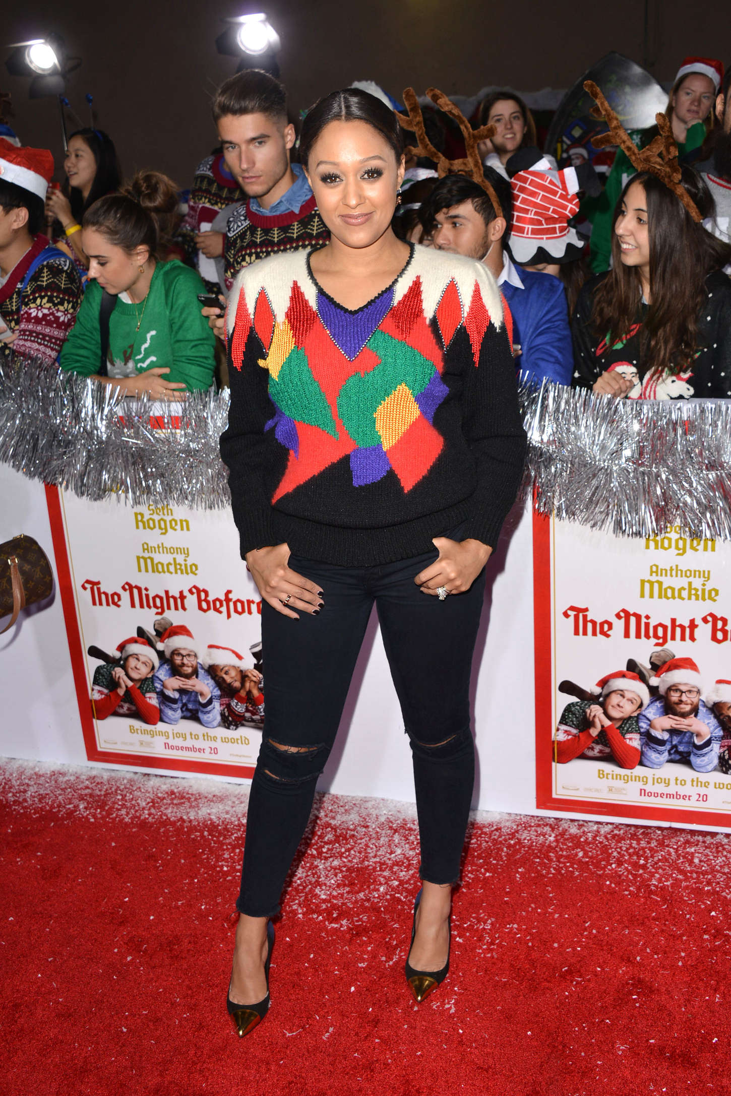 Tia Mowry The Night Before Premiere in Los Angeles