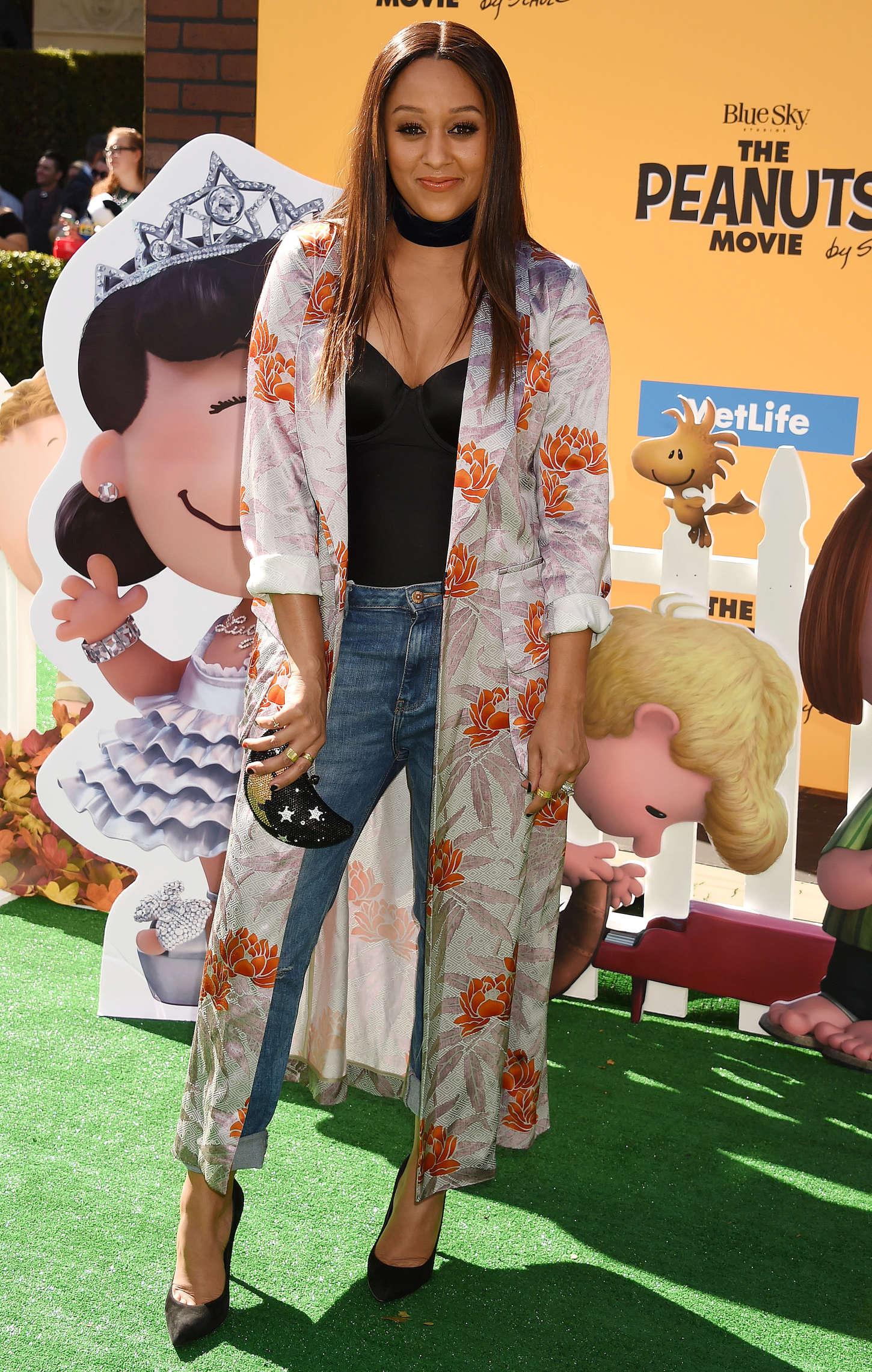 Tia Mowry The Peanuts Movie Premiere in Los Angeles