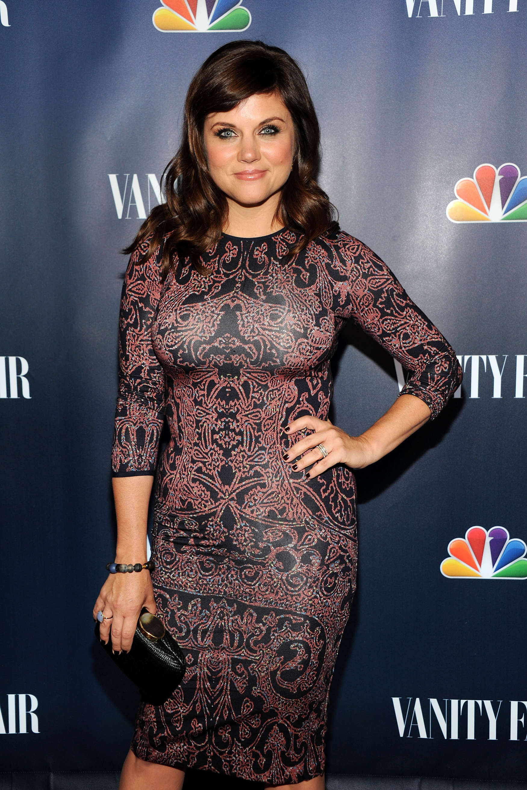 Tiffani Thiessen at Vanity Fair NBCs Fall Launch Party