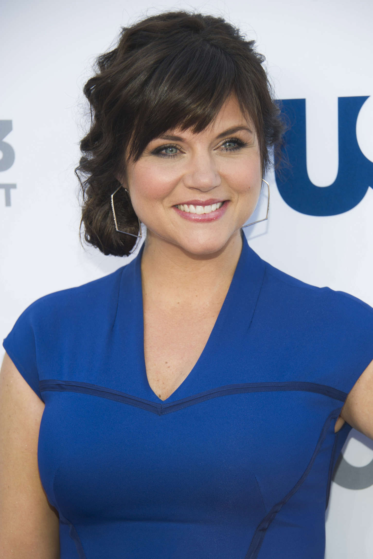 Tiffani Thiessen USA Network Upfront in New York