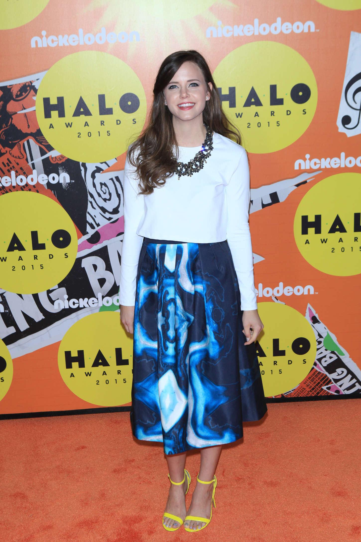 Tiffany Alvord Nickelodeon HALO Awards in New York