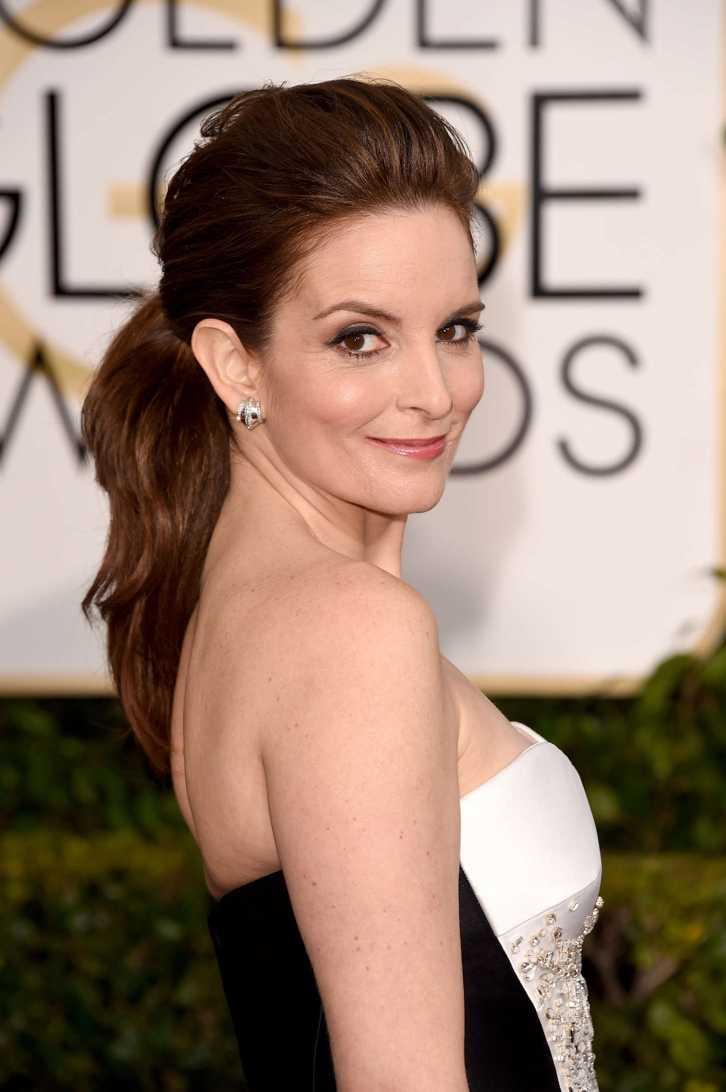 Tina Fey Annual Golden Globe Awards in Beverly Hills