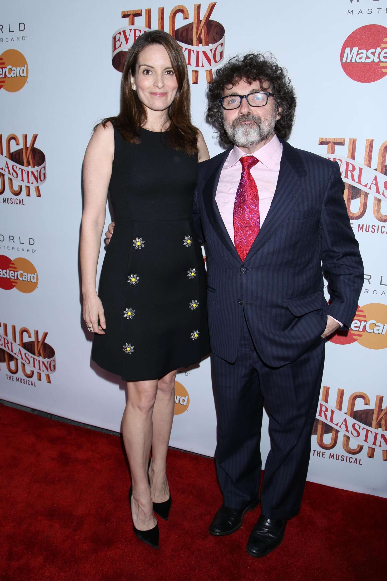 Tina Fey Tuck Everlasting Broadway Opening Night in New York