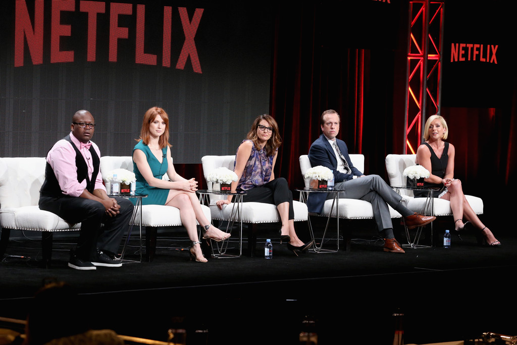 Tina Fey Unbreakable Kimmy Schmidt Panel Discussion at Summer TCA Tour in Beverly Hills