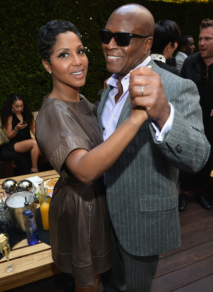 Toni Braxton Honoring Kenny Babyface Edmonds on the Hollywood Walk of Fame