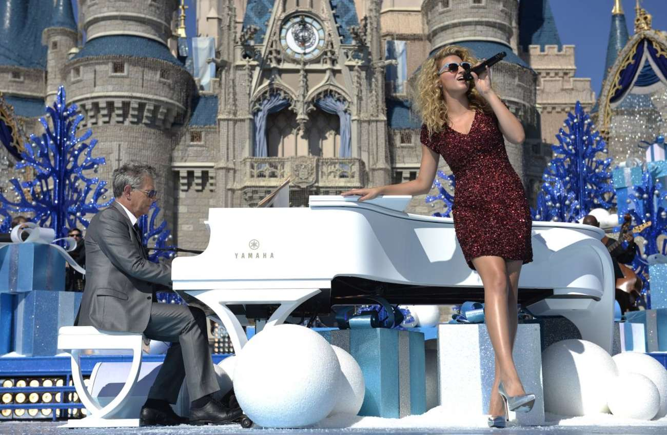 Tori Kelly Disney Parks Unforgettable Christmas Celebration Taping in Lake Buena Vista