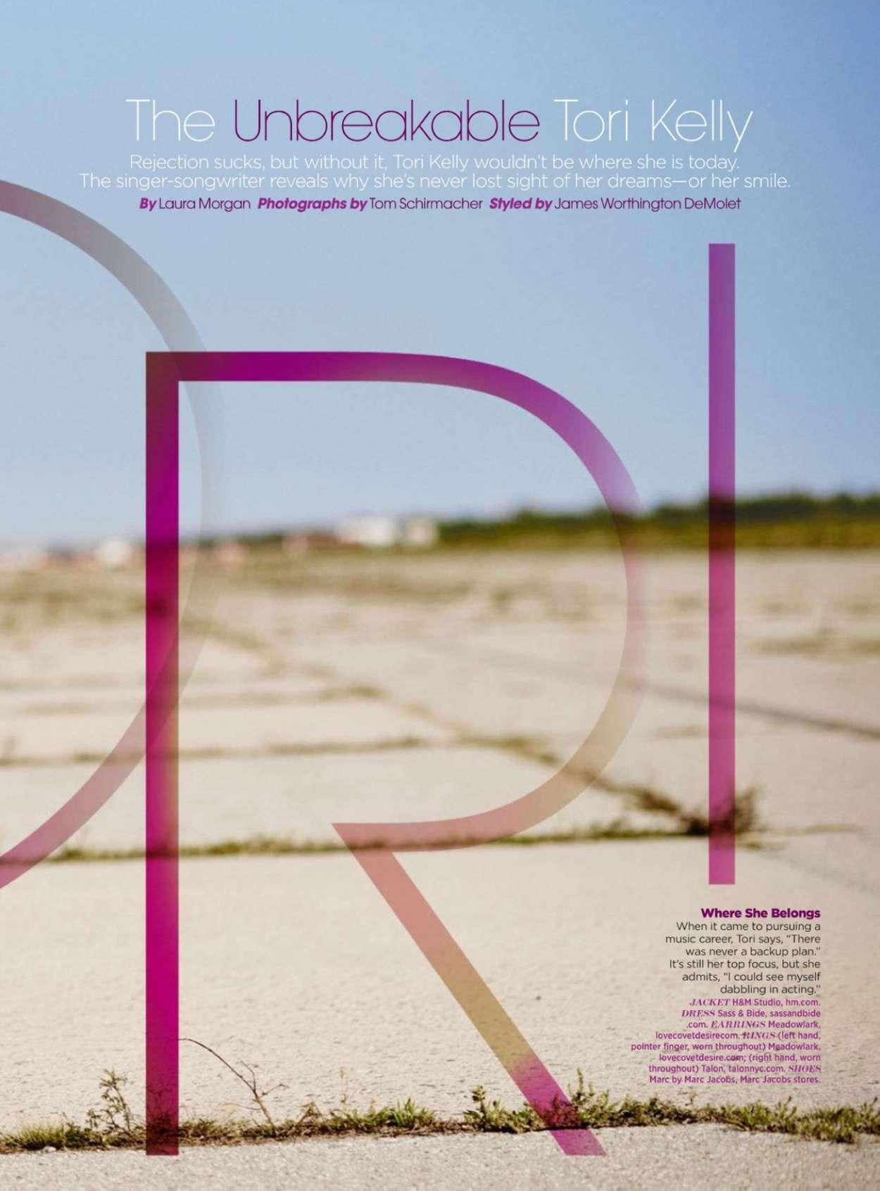 Tori Kelly Seventeen Magazine