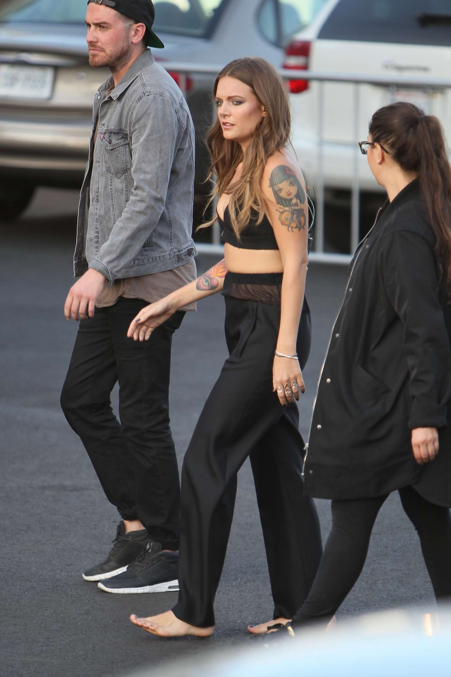 Tove Lo Arriving at Jimmy Kimmel Live in Los Angeles