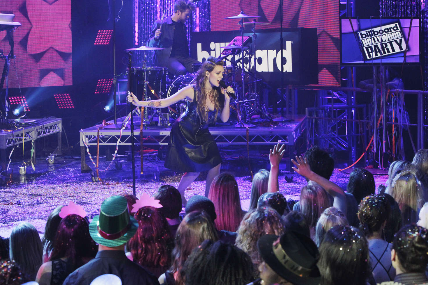 Tove Lo Dick Clarks New Years Rockin Eve in Los Angeles