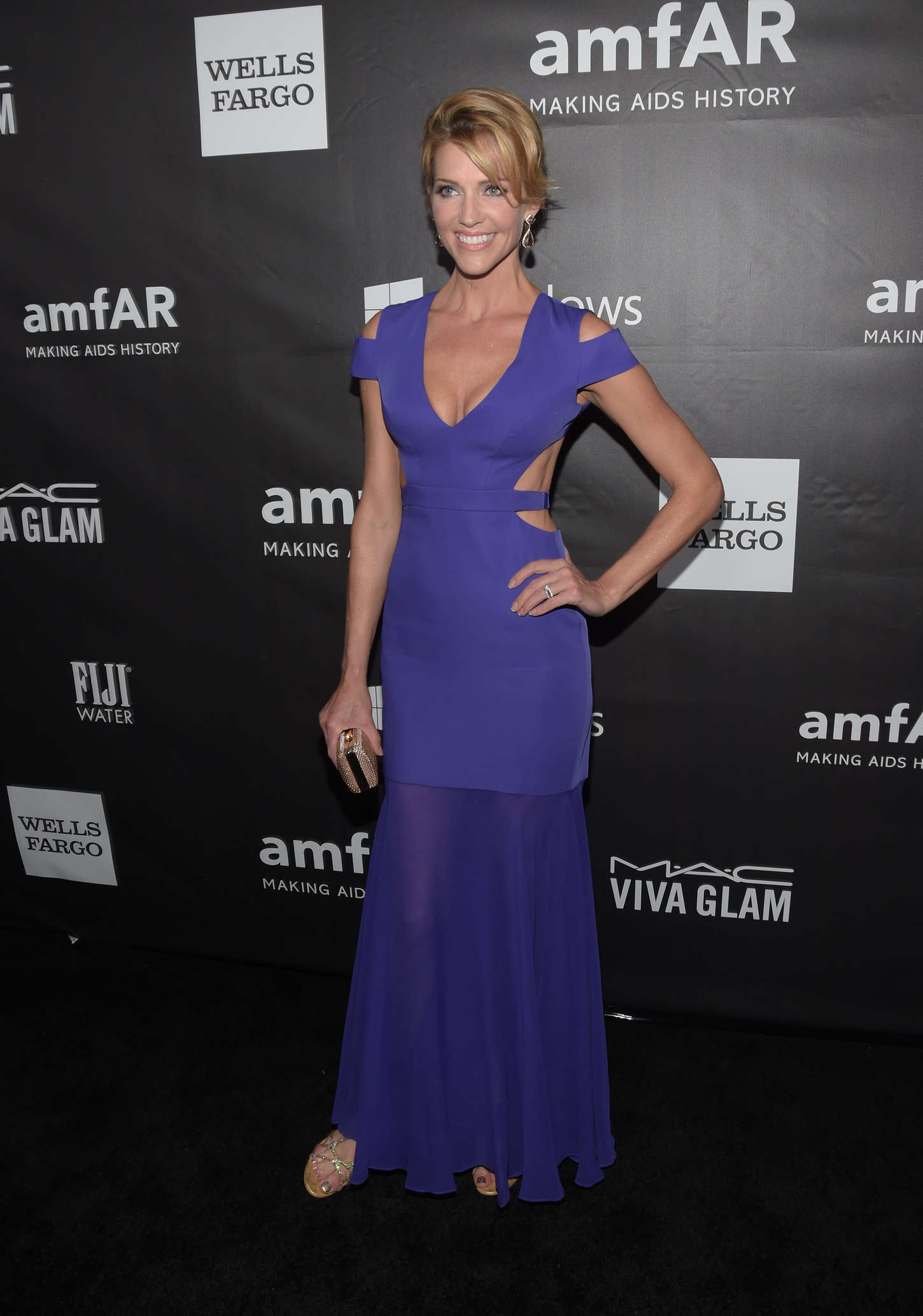 Tricia Helfer amfAR Los Angeles Inspiration Gala in Hollywood
