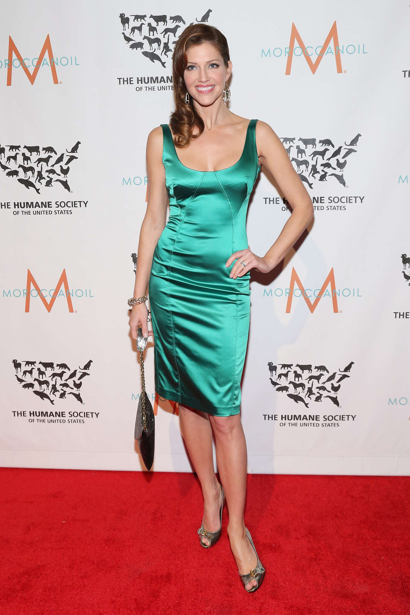 Tricia Helfer at The Humane Society Gala in New York
