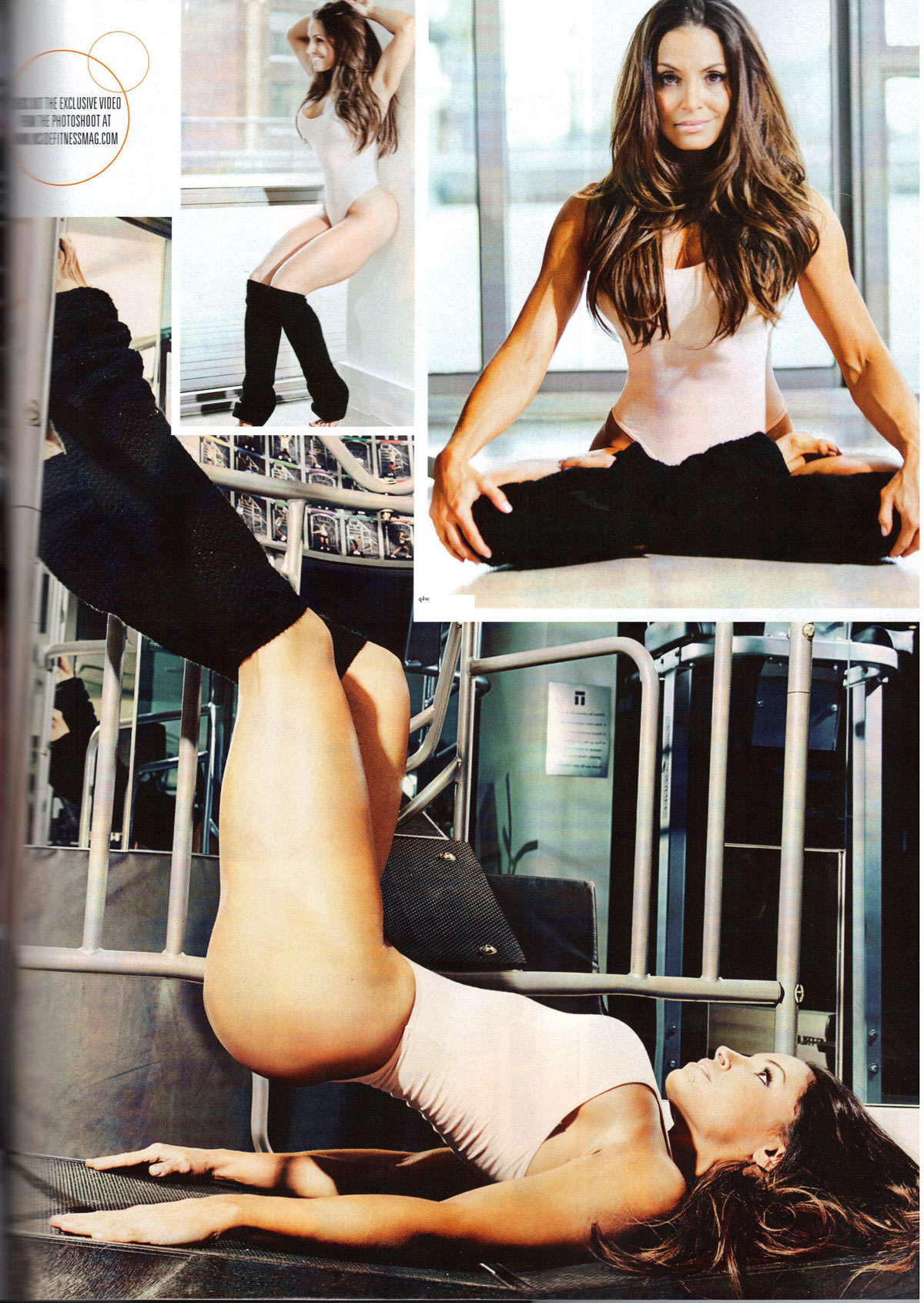 Trish Stratus Inside Fitness Magazine