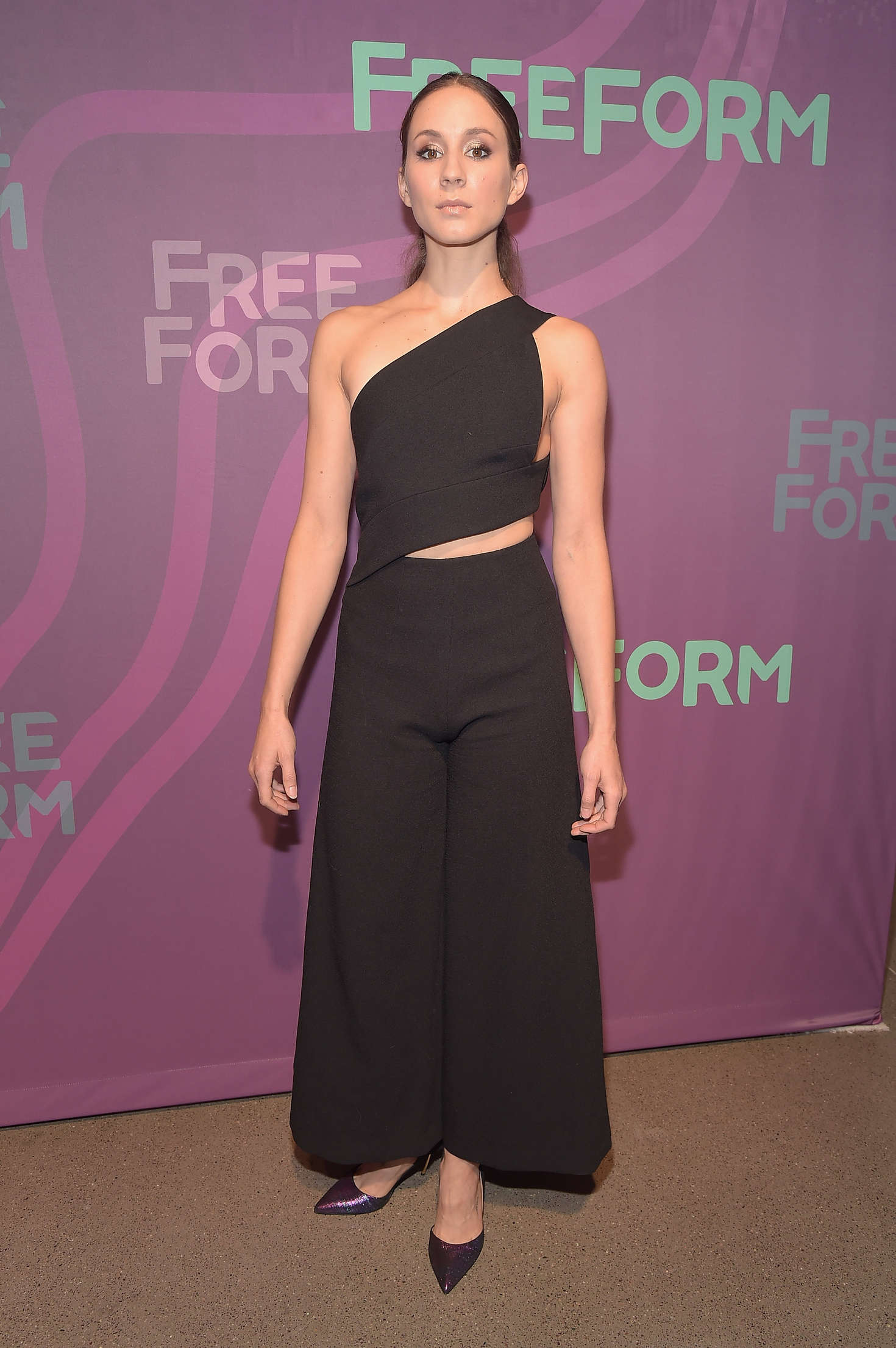 Troian Bellisario ABC Freeform Upfront in New York