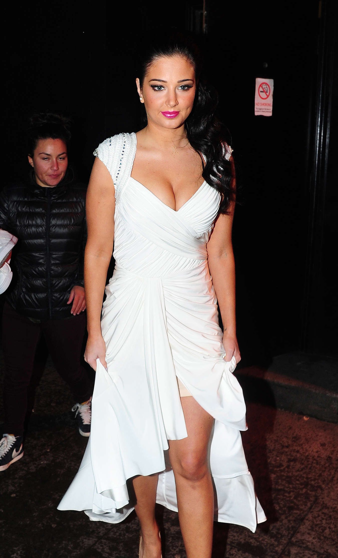 Tulisa Contostavlos at National Television Awards