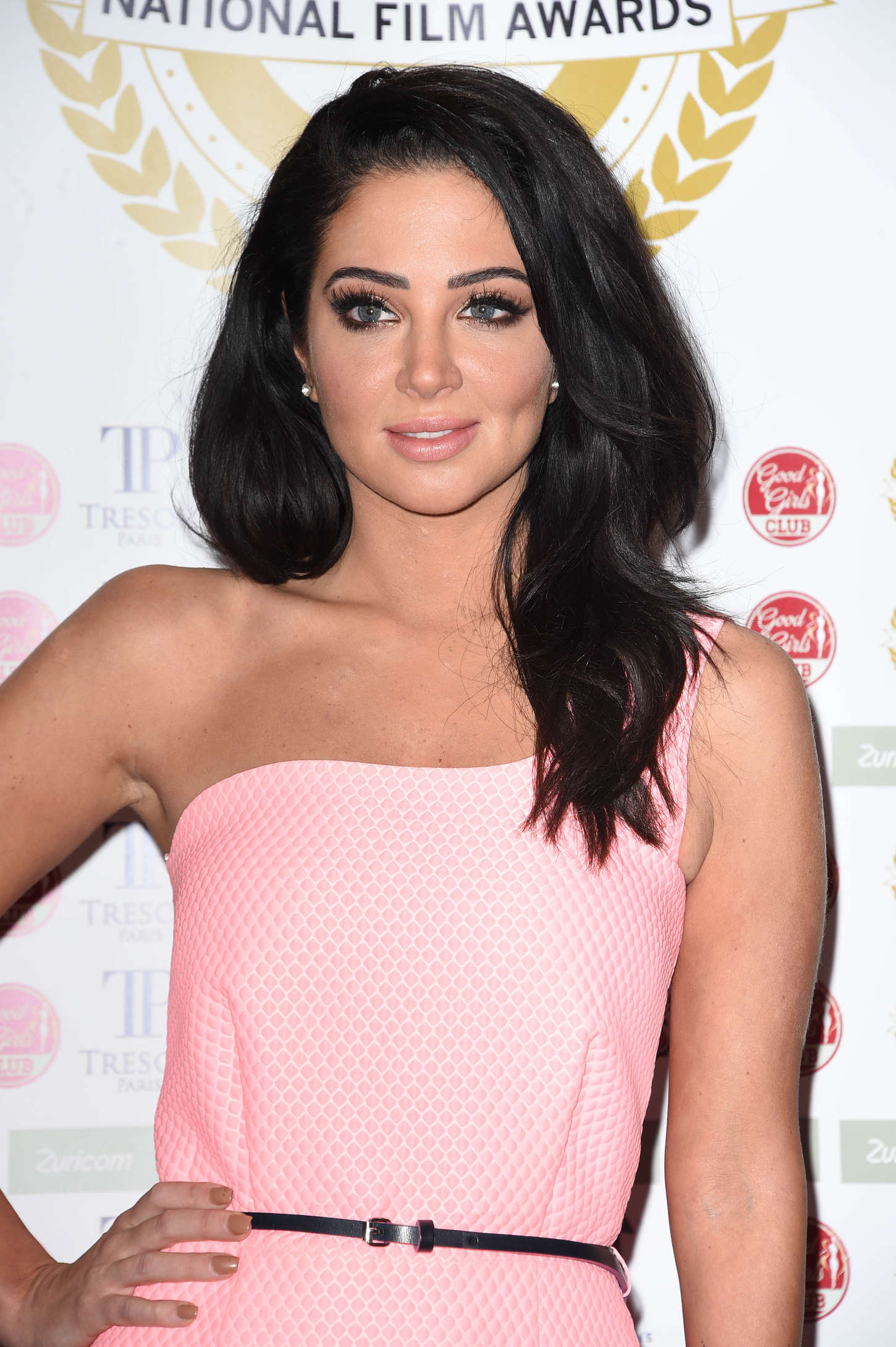 Tulisa Contostavlos The National Film Awards in London